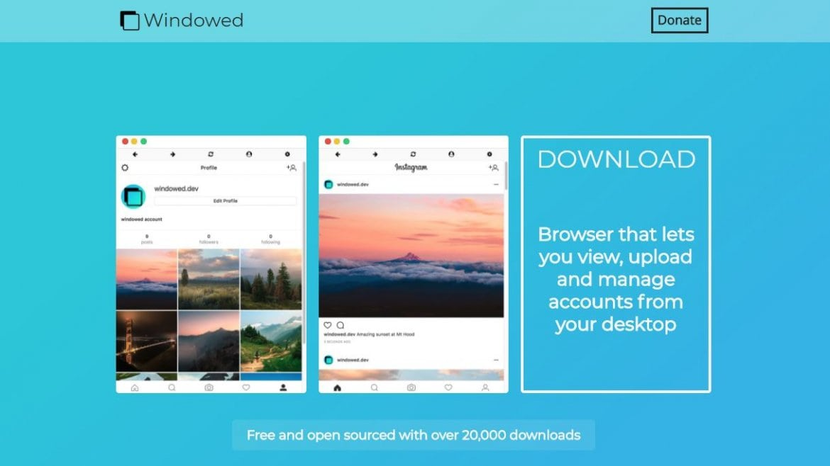 Windowed: The Best Tool to Use Instagram on a Computer